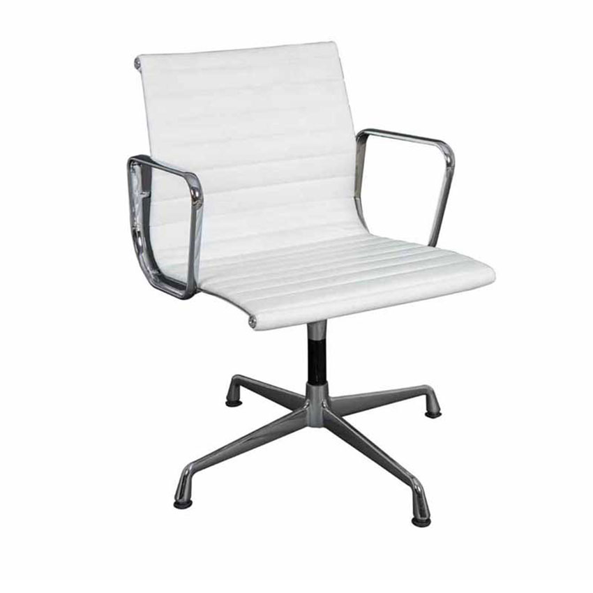 Tejari Office Chair With Wheels White